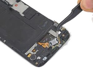 تعمیر اسپیکر گوشی samsung