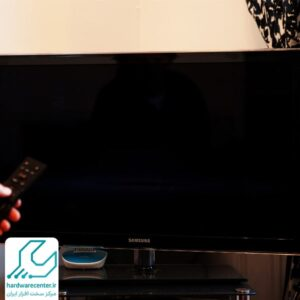 سیاه شدن تصویر تلویزیون سامسونگ