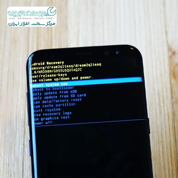 ریست فکتوری موبایل سامسونگ
