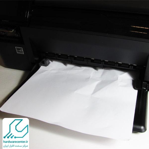 گیر کردن کاغذ در پرینتر