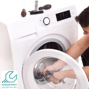 آموزش تعویض تسمه ماشین لباسشویی