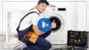 فیلم آموزش تعمیر خشک کن لباسشویی سامسونگ