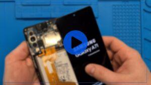 فیلم آموزش بازکردن قطعات گوشی Samsung Galaxy A71