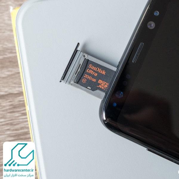 فرمت نشدن کارت SD موبایل
