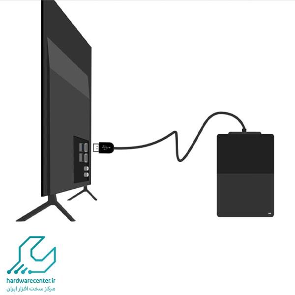 اتصال هارد اکسترنال به تلویزیون سامسونگ
