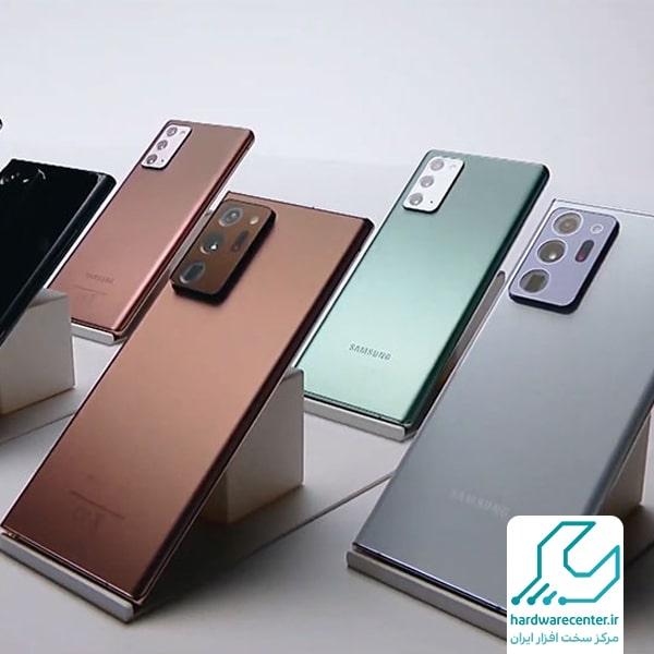 گلکسی نوت 20 اولترا مدل SM-N985F/DS با 256 گیگابایت حافظه داخلی