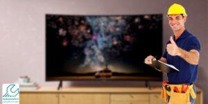 تعمیر بک لایت تلویزیون سامسونگ ru7300