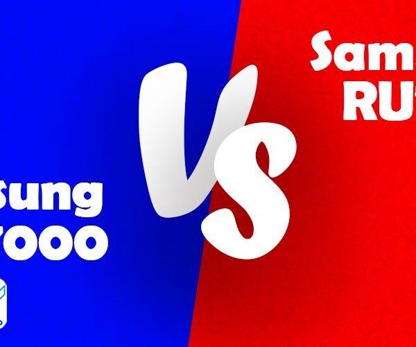 مقایسه تلویزیون سامسونگ RU7100 با TU7000