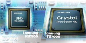 مقایسه تلویزیون Samsung RU7100 با TU7000